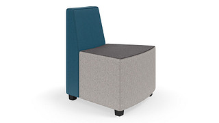 MyPlace Lounge Furniture | 30° Outside Curve w/ Back