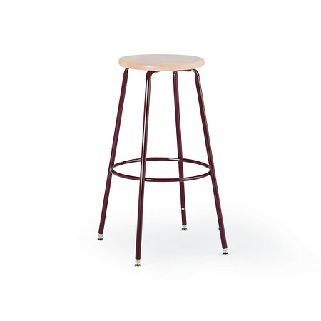 600 Series Stool Wood Seat Adjustable Leg