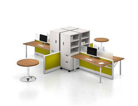 Unite System with AT mobile storage and Athens tables
