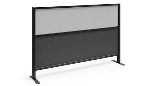 Segmented Flex Screen w/Polyester Felt Lower, Fabric Upper Core