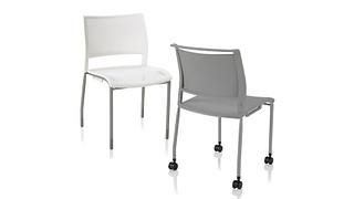 Opt4 Stack Chair | 4-Leg Chair