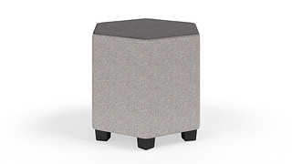 "MyPlace Lounge Furniture | 18"" Hexagon (Standard or Junior)"