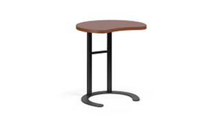 "C-Table Personal Worksurfaces | Round w/ Comfort Curve (25-30""H Adjustable)"