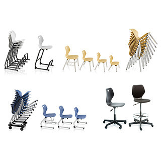 Intellect Wave Seating Collection CAD Symbols