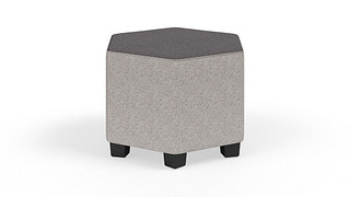 "MyPlace Lounge Furniture | Junior 18"" Hexagon"