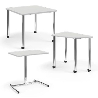 Ruckus Activity Tables and Post-Leg Desks CAD Symbols