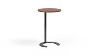 "C-Table Personal Worksurfaces | Round (27"" H Fixed)"